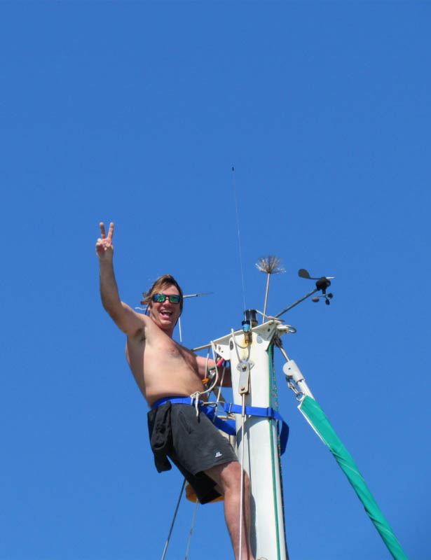 Don at the Top of the Mast