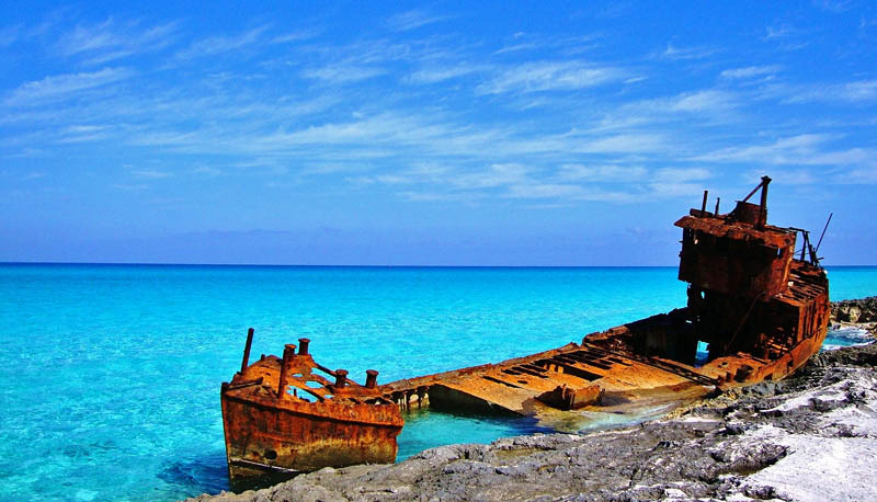 Wreck of the Gallant Lady Bimini Bahamas