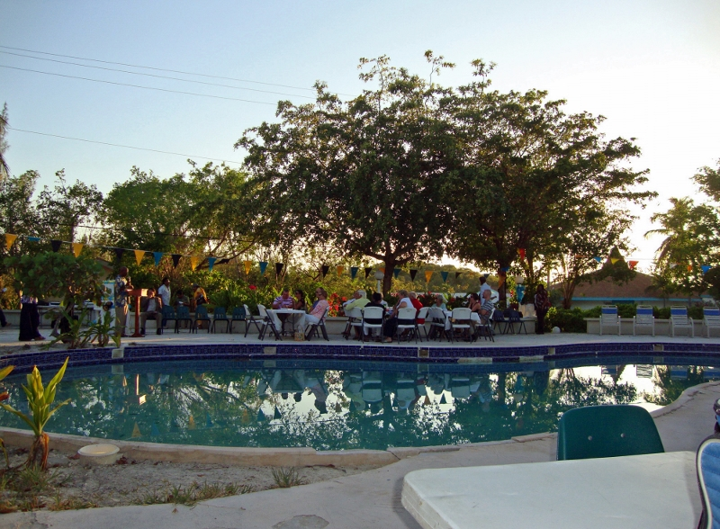 Great Harbour Cay Pool Bar