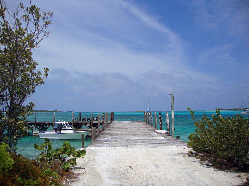 Norman's Cay Dock