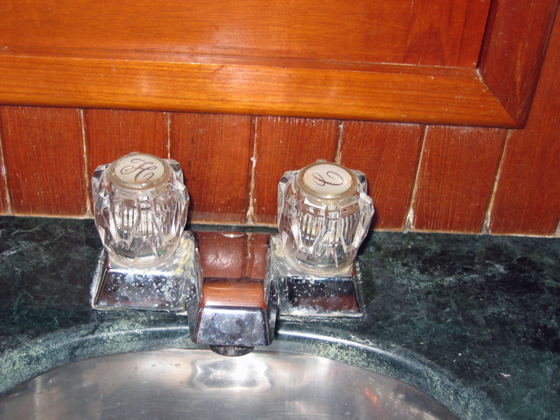 Old Sink Faucet