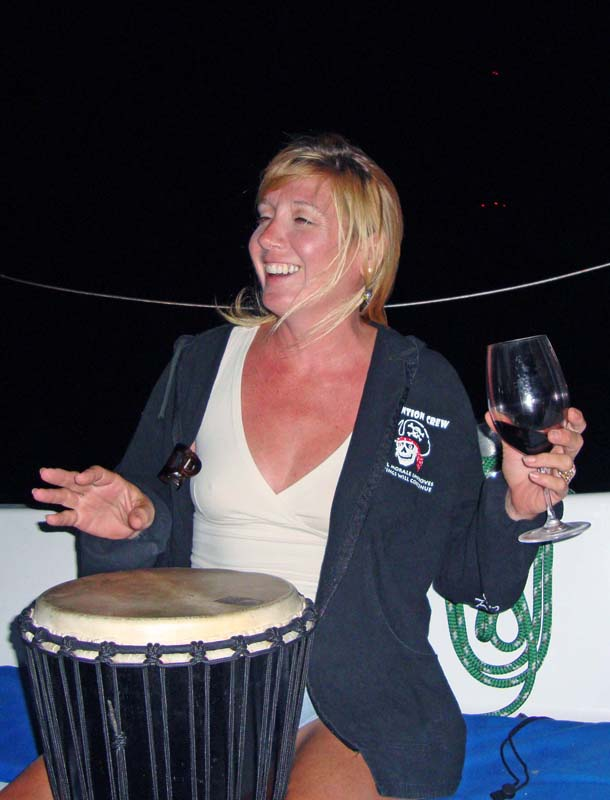 Diana on the Djembe