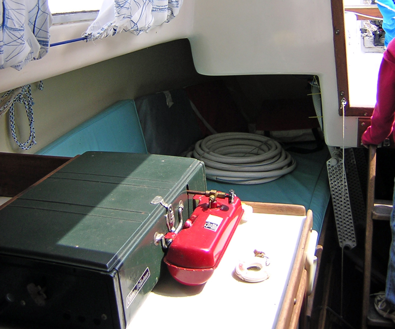Galley and Quarter Berth