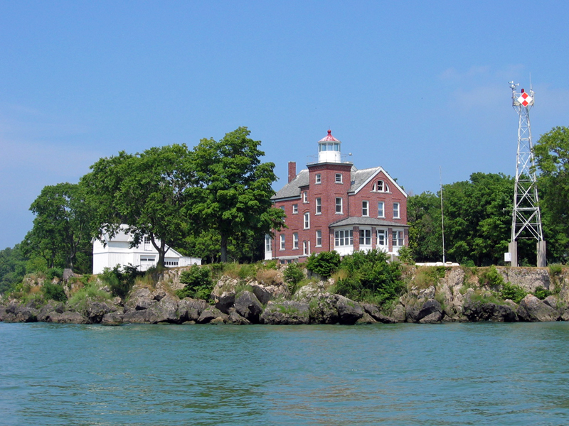 The South Bass Island Light