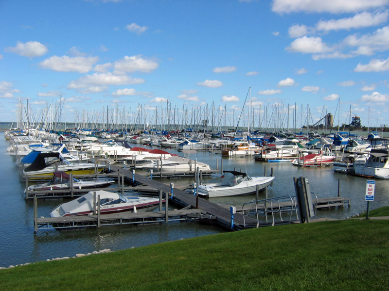 Sandusky Marina's Long Docks