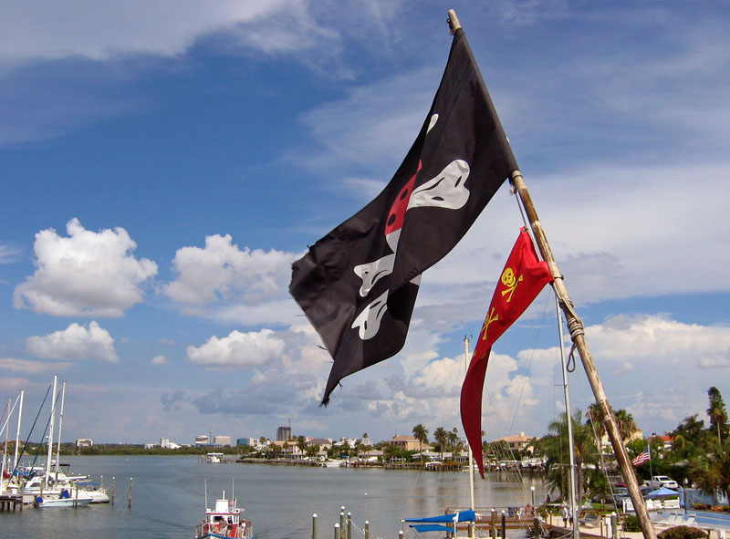 Pirate Ship Flags