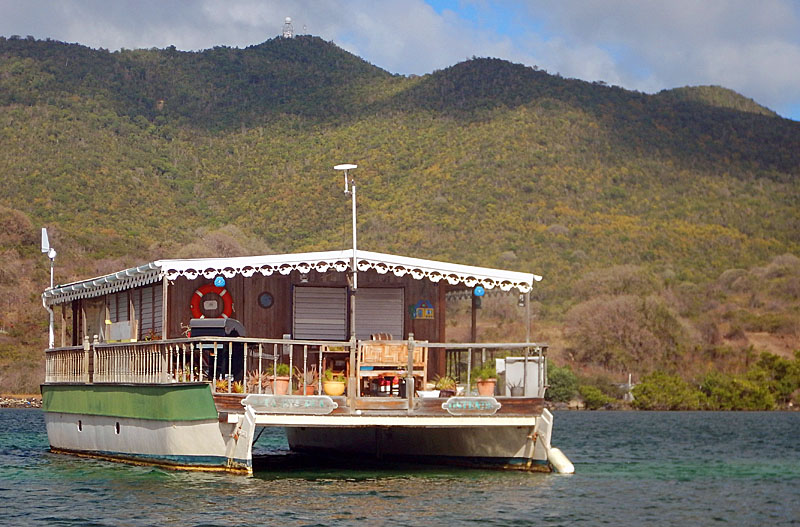 Simpson Bay House Boat, St. Martin