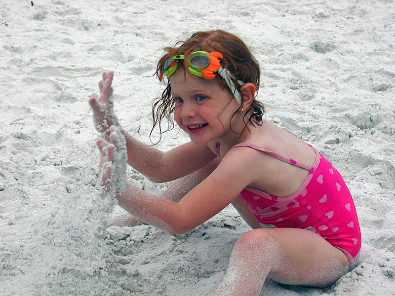 Camryn on the Beach